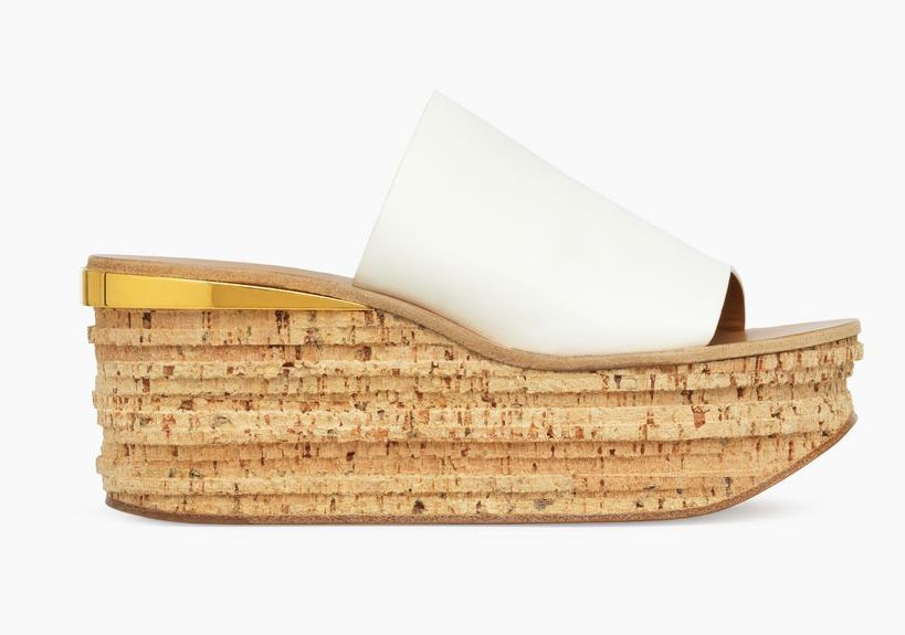 Luxury Cork Wedges by Chloe
