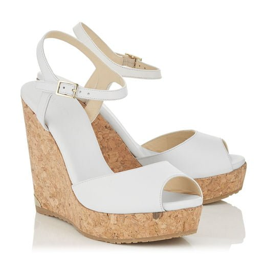 Luxury Cork Wedges by Jimmy Choo