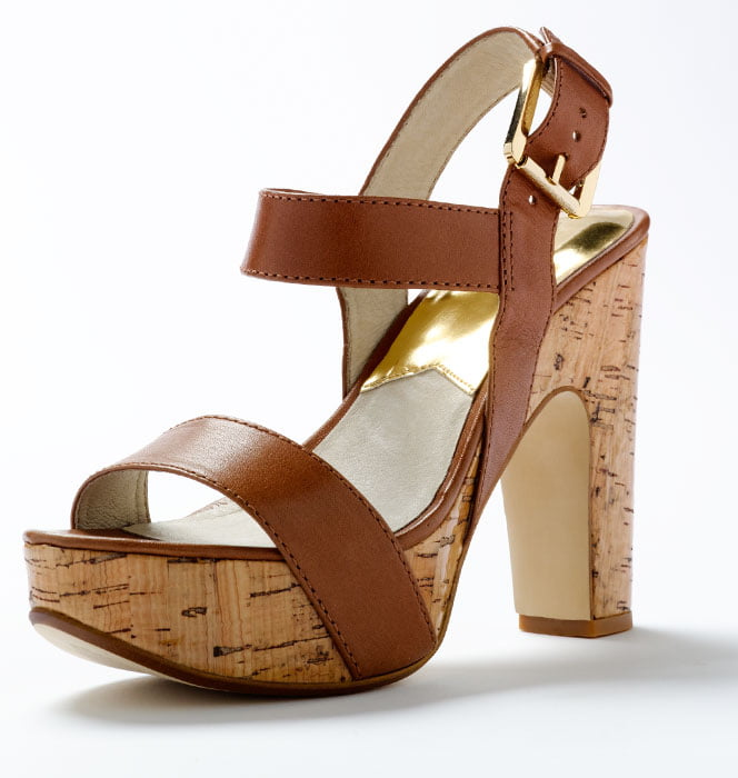 Luxury Cork Leather Shoe by Michael Kors