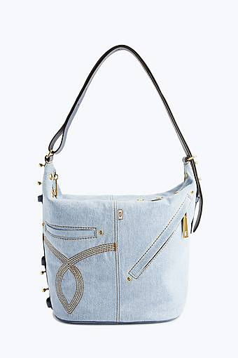 Cotton vegan leather handbag by Marc Jacobs