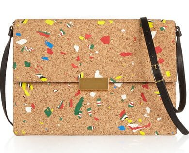 Luxury Cork Leather Shoulder Bag by Stella McCartney