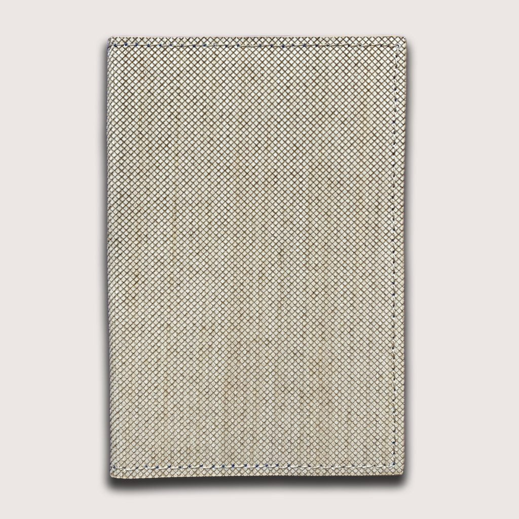 Passport Cover Wood Leather